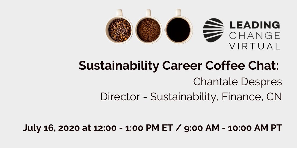 Picture of coffee mugs - Sustainability Career Coffee Chat